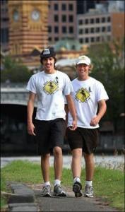 Alex Dodds Walk 4 A Cure – congratulations Blaise White & Zac Dodds!