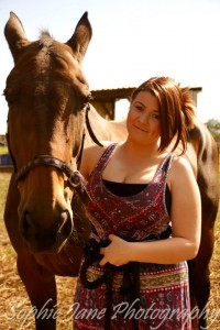 Stevie saddles up for cancer research