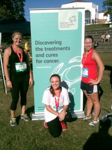 ACRF fundraisers take part in the inaugural Brisbane City2South