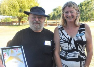 Super fundraiser honoured as local hero