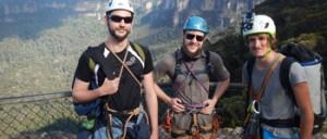 Michael Gunter climbs to beat cancer