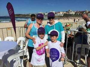 Derrin runs to support cancer research in memory of her dad