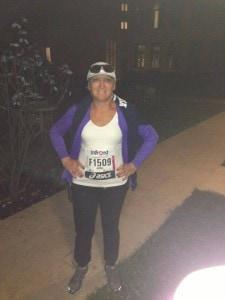 Avril takes on the Venice Marathon in memory of Silvana