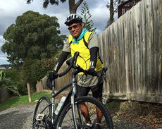 Ajith's cycle challenge for cancer research