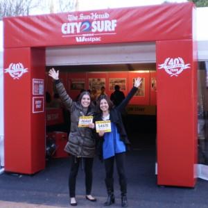 City2Surf dream team: good luck everyone!