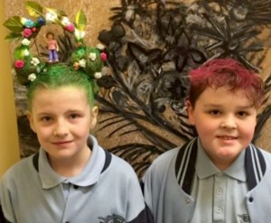 Isabella's Crazy Hair Day for Cancer Research