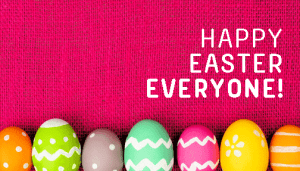 Happy Easter from the ACRF!