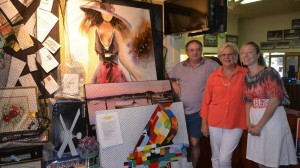 Monster raffle and sausage sizzle brings community together for research