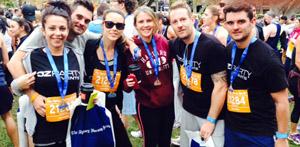 Half marathon runners raise over $83K for cancer research in Aus!