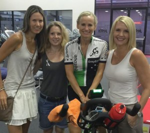 Pedalling for cancer research in memory of Penny