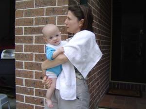 Riley & mum Thornleigh - 1-2003