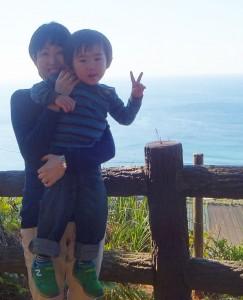 Volunteer week - Sayako & her nephewV2