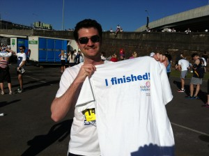 Brisbane pounds the pavement for a good cause