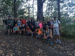 Team CBA tackle 27kms to help end cancer.