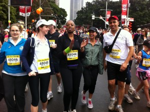 Taking on the 2011 City2Surf