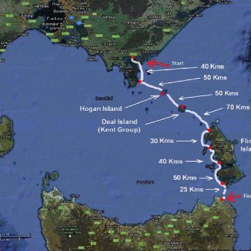 Solo kayak across Bass Strait is cancer fundraising at its bravest!