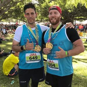 Josh completes Honolulu marathon 2017