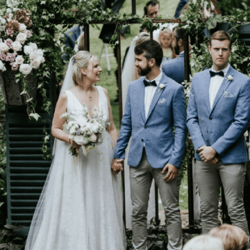 Ali and James invite ACRF to wedding