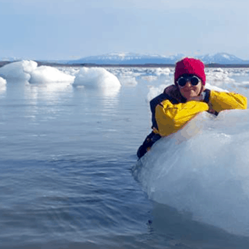 Jola Adventures in the Arctic for Cancer Research