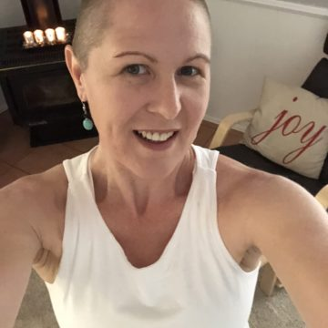 Carol Shaves her Head in Honour of Friend