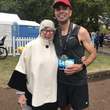 A marathon for Mum