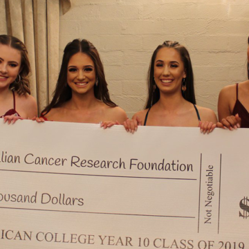 Penrith Anglican College supports cutting-edge cancer research